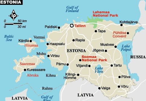 About Estonia – Marinde Out